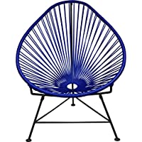 Innit Designs Junior Acapulco Chair | Black/Deep Blue
