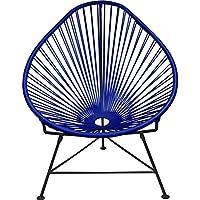 Innit Designs Junior Acapulco Chair | Black/Deep Blue