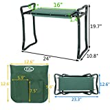 (GG) Garden Kneeler Seat w/EVA Folding Portable Bench Kneeling Pad and Tool Pouch New by Good Grannies