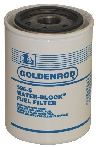 GOLDENROD (596-5) Fuel Tank Filter Replacement Water-Block Canister by Goldenrod