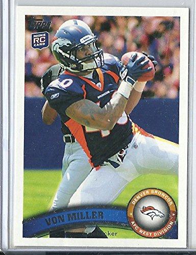 (2011 Topps Football #427 Von Miller Rookie Card)