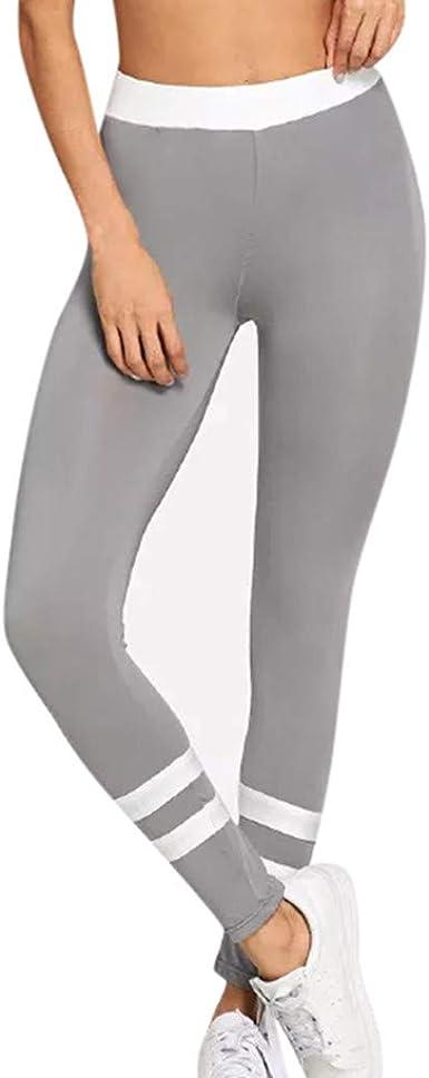 Ropa Deportiva Leggings Deporte Mujer Yoga Deslumbrante Pants Fitness Para Chica Adolescente Fossen Murope Pantalones Mujer Cintura Alta Elasticosde De Costuras Bicolores Energizado Ninas Deportes Y Aire Libre Doorgo Id