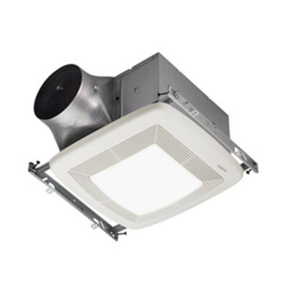 70%OFF Broan ZB80L Ultra X2 Multi-Speed Series Ventilation Fan with 36-Watt Fluorescent Bulb and 4-Watt Night Bulb