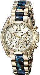 Michael Kors Women's MK6318 Mini Bradshaw Gold-Tone Watch