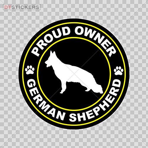 Buy cheap decal proud owner german shepherd car window jet ski d217 8xse2