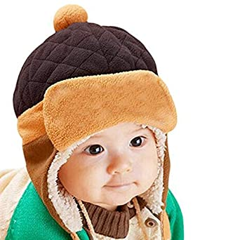 Image result for Fashion Sutra Baby Winter Warm Pilot Beanie Cap for Kids