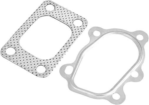 """4 Bolt 3/"""" Turbine Turbo Outlet Down Pipe Exhaust Flange Gasket Fits for Car"""