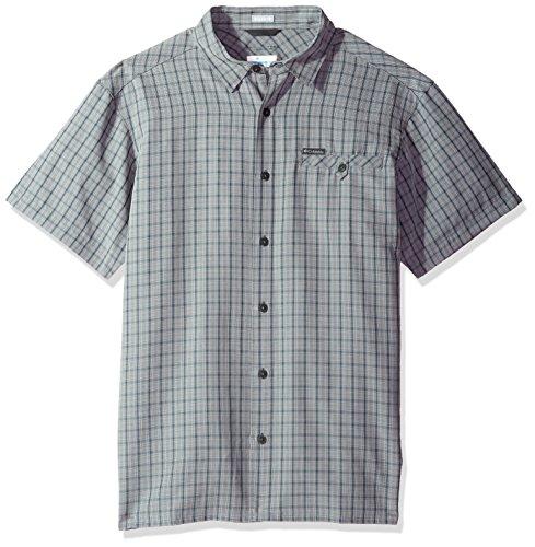 1b1f3f8750e Columbia Men's Declination Trail Ii Short Sleeve Shirt, Grey Ombre, ...