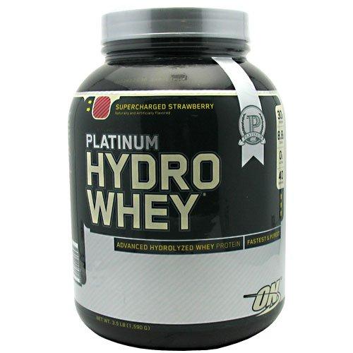 Optimum Nutrition Platinum Hydrowhey Supercharged Strawberry