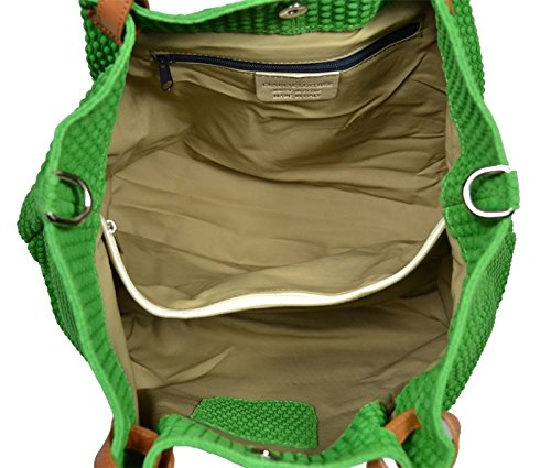 Neue Hand Tasche , Sac pour femme à porter à l'épaule vert vert 1