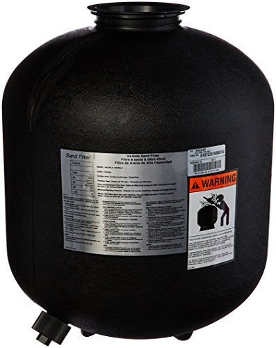 Pentair 145342 Gray Tank with Drain Replacement Sand Dollar SD40 Pool and Spa Sand Filter by Pentair