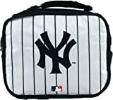 New York Yankees Insulated Lunch Bag Tote Pinstripe
