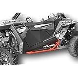 Polaris RZR 900 Trail, 900S, 1000S, XP1000, Turbo, Nerf Bars Rock Sliders - Red