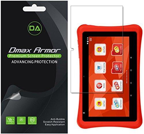 [3-Pack] Dmax Armor for Nabi Hot Wheels Tablet Screen Protector, Anti-Glare & Anti-Fingerprint (Matte) Shield- Lifetime Replacement
