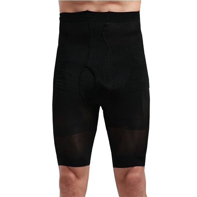 2ce7d9954c8b86 Bliefescher Hosen Herren Sommer Slim Fit Hohe Taille Atmungsaktiv Kurze  Sport Kompressionshose Funktionswäsche Base Shorts