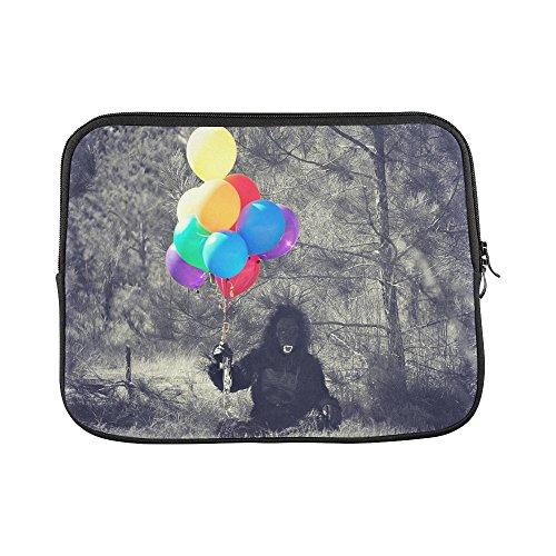 Design Custom Gorilla Costume Balloons Person Halloween Monkey Sleeve Soft Laptop Case Bag Pouch Skin For Macbook Air 11