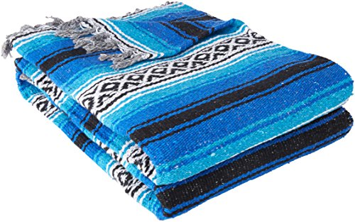 YogaDirect Deluxe Mexican Yoga Blanket