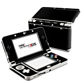 Solid State Black Design Decal Skin Sticker for Nintendo 3DS (2015) (Matte Satin)