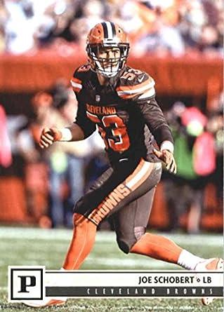 detailed look c99c1 a7375 Amazon.com: 2018 Panini NFL Football #74 Joe Schobert ...