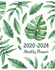 2020-2024 Monthly Planner: Five Years Monthly Planner (60 Months Calendar) For To Do List Journal Notebook | Academic Schedule Agenda Logbook Or Student Teacher Organizer | Business Appointment W/ Holidays