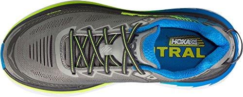 HOKA ONE ONE BONDI 5 - Zapatillas de running en color azul y gris