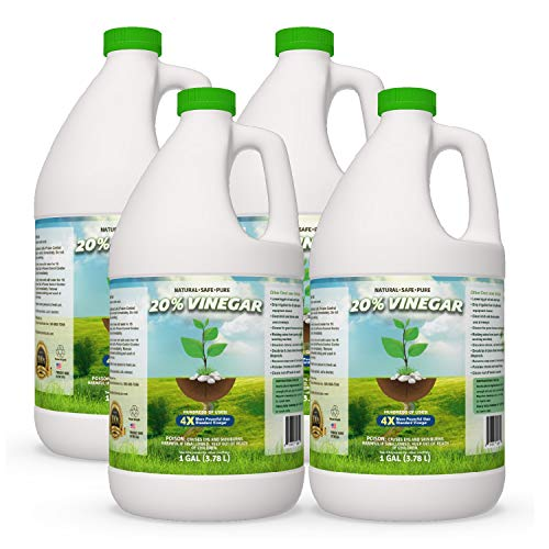 Pure 20% Vinegar - Home&Garden (4 Gallon case) from EcoClean Solutions