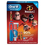 Oral-B Kids Rechargeable Electric Toothbrush, (Incredibles 2)