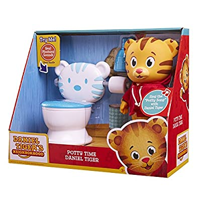 Daniel Tiger's Neighborhood Potty Time Toy: Toys & Games