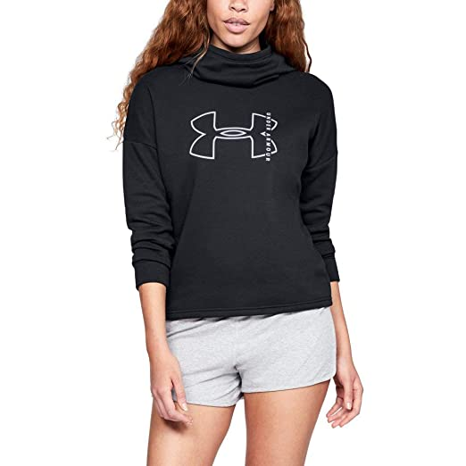 8ecf99cc Under Armour Women's Rival Fleece Big Logo Hoodie