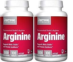 Jarrow Formulas L-Arginine 1000mg, 200 Tablets