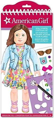 American Girl Doll Fashion Design Portfolio Set - Fashion Design Set