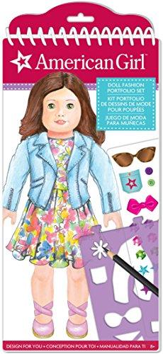 American Girl Doll Fashion Design Portfolio Set