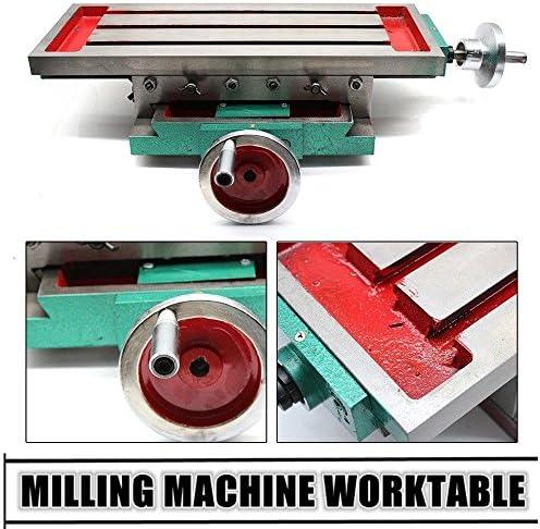 Mesa de trabajo de fresado multifunción Máquina de fresado mesa de perforación compuesta Mesa de coordenadas Mesa de taladrado de mesa de herramientas: Amazon.es: Bricolaje y herramientas