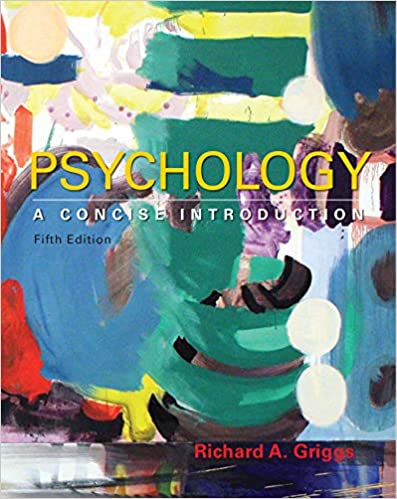 psychology a concise introduction 5th edition chapter 4