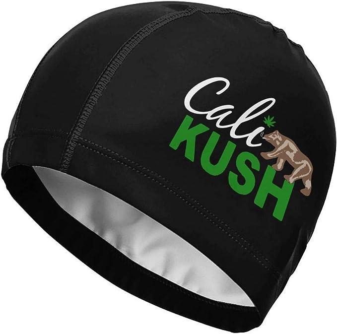 Suhatt Gorra de natación, Cali Kush Weed California Republic Swim ...