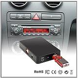 Adaptateur stéréo USB SD AUX MP3avec connexion via le chargeur CD pour Audi A4A6A8All Road S4TT