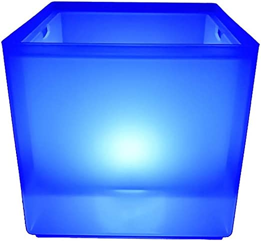 Cubitera de hielo LED de 3,5 L, color degradado, para congelador ...