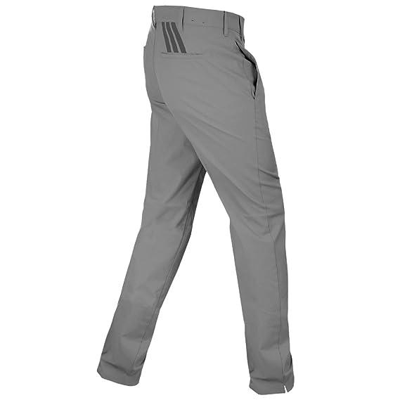 Adidas hombre 's pure Motion Stretch 3 rayas pantalones: