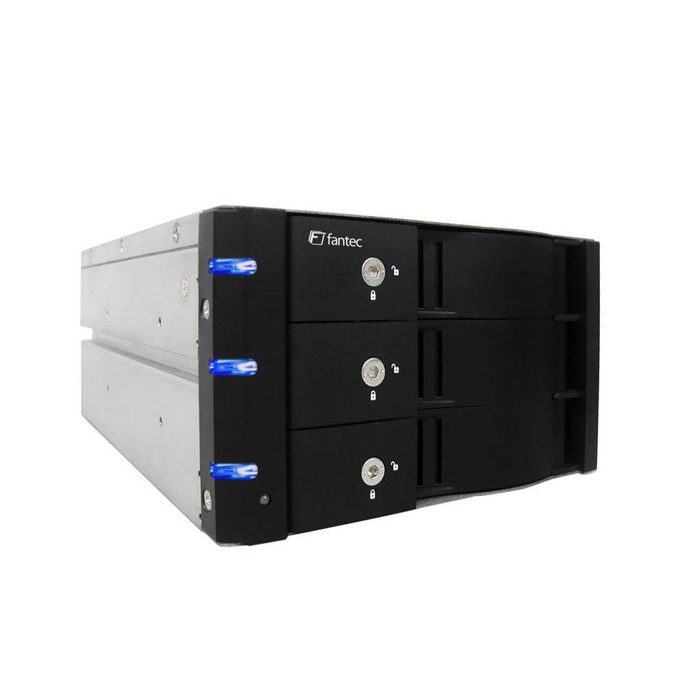 Fantec MR-SA2131 Rack per HDD, Nero