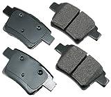 Akebono ACT1071 ProACT Ultra-Premium Ceramic Brake Pad Set