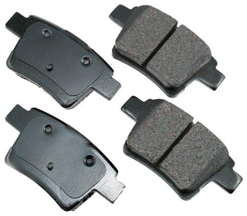 Akebono ACT1071 ProACT Ultra-Premium Ceramic Brake Pad Set by Akebono