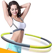 Fitness Hoop Hot Fitness Sports Hoop Foldable Exerciser Dance & Lose Weight Weighted Hoop Improve Stamina Build Lean Muscle At Home or On The Go Portable Wave shape bulge Hula Hoop