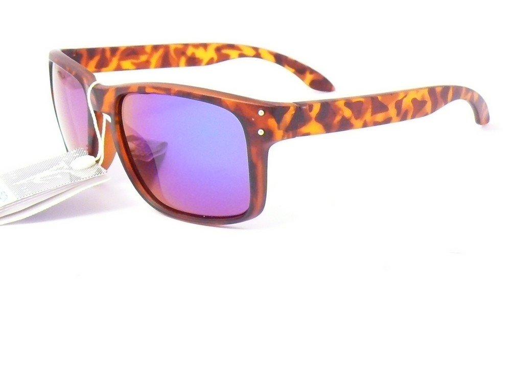 lunettes de soleil mixte homme femme mode tendance 023753vt (monture violet verres revo violet, largeur:135mm hauteur:47mm)