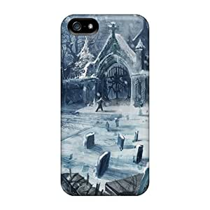 New Premium SoHpz4775LpjWv Case Cover For Iphone 5/5s/ Winter Cemetery Protective Case Cover