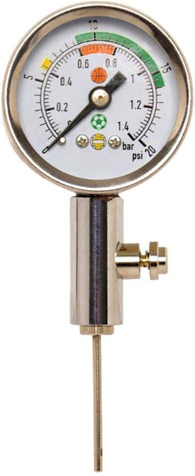 Firelong Manómetro de presión de Aire de Pelota Heavy Duty Metal ...