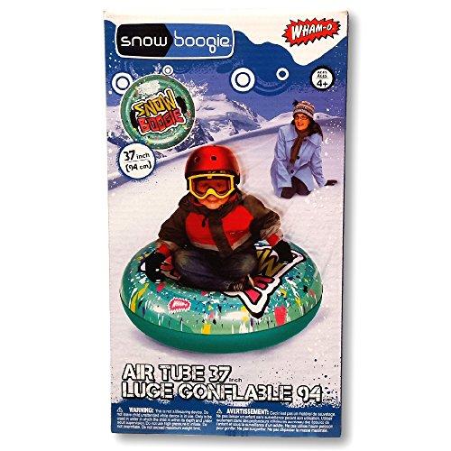 Wham-O Snow Boogie 37'' Air Tube Inflatable Green Snow Tube by Snowboogie