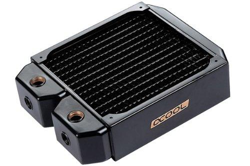 Alphacool 14168 NexXxoS XT45 Full Copper Radiator CPU Wasserk/ühlung Kupfer // Schwarz 140mm