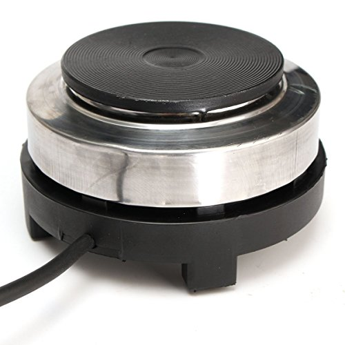 220V 500W Electric Mini Stove Hot Plate Multifunction Cooking Plate Coffee Heater Home Appliance By GokuStore