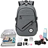 Business Laptop Backpack, Unisex Water-Resistant