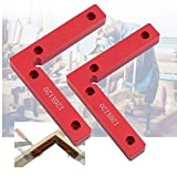"AIBER 90 Degree Corner Clamp Right Angle Vice Welding Woodworking Squares Tools 4.7"" x 4.7"" Pack of 2"